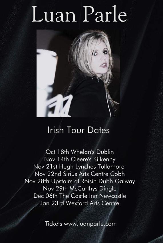LUAN PARLE - tour dates