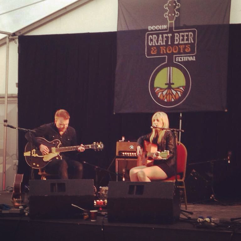 What an amazing festival, amazing crowd. Thank you so much Doolin Craft Beer & Roots Festival