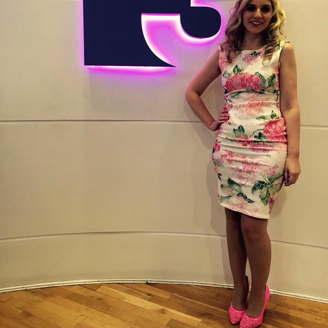 Today's outfit on TV3's Midday is from Ghost Boutique Wicklow :) lots of lovely compliments for this little number :)
