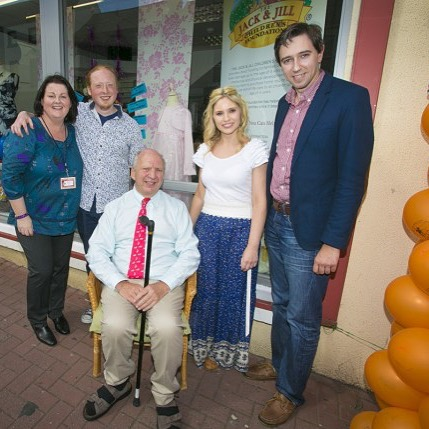 The opening of Jack & Jill Charity Boutique Arklow. Check it out on my blog www.luanparle.com {link in bio}