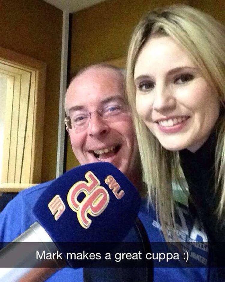I'm at Limerick Live 95!!!!! #mark #whelan #cuppa #limerick #radio