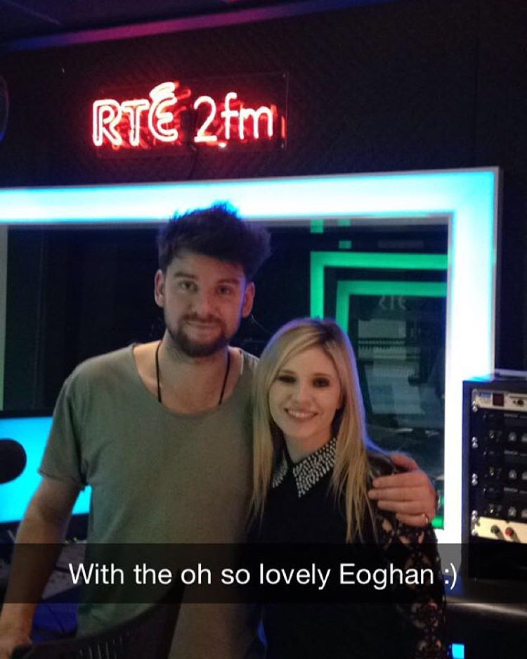 Tune into the lovely Eoghan McDermott's Show on 2FM after 6PM to hear the brandy new single and some exciting news :) @eoghanmcdermott #2fm #eoghanmcdermott #newsingle