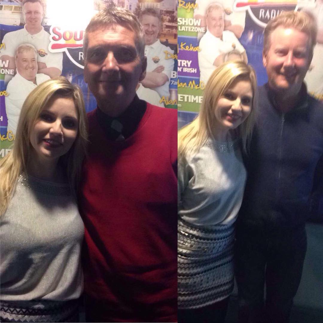 Fab morning with the boys in South East Radio for the Alan Corcoran Show :) #south #east #radio #wexford