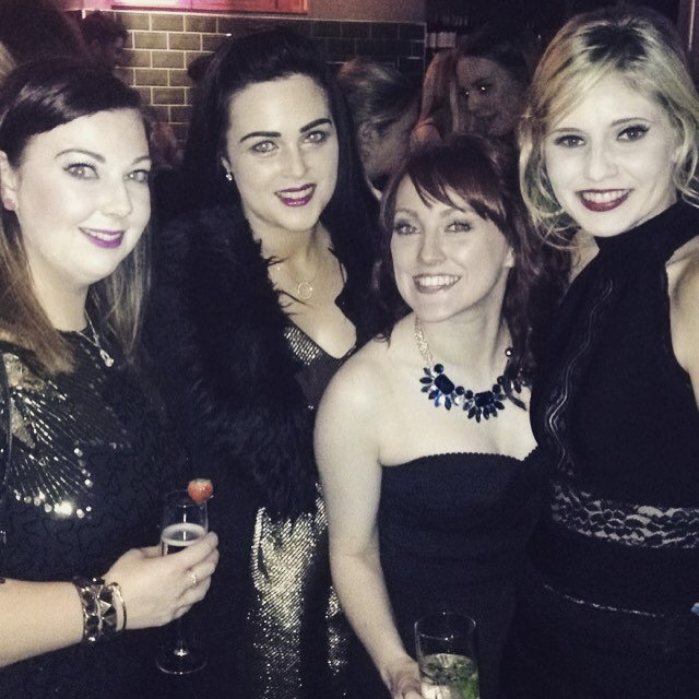 Such a fab night with these gorgeous girlies @clisare @louiseclarkeradio ???? @stellarmagazine #stellar #magazine #shine #awards
