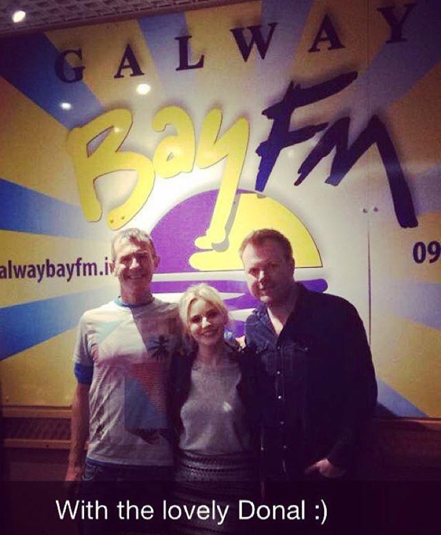 Live on Galway Bay FM #live #galway #bay #fm #studio #session