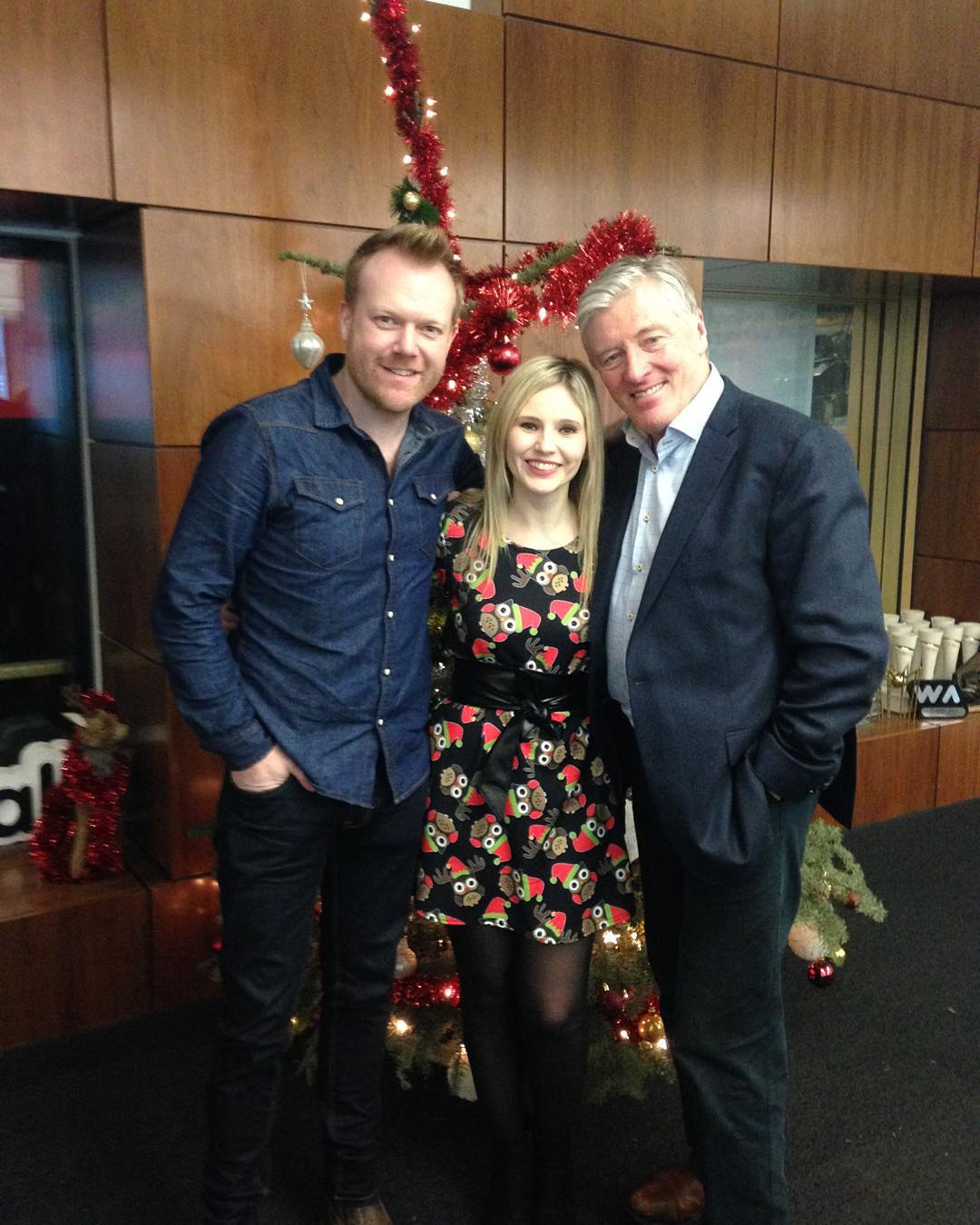 Performing on Newstalk with our great friend Pat kenny
