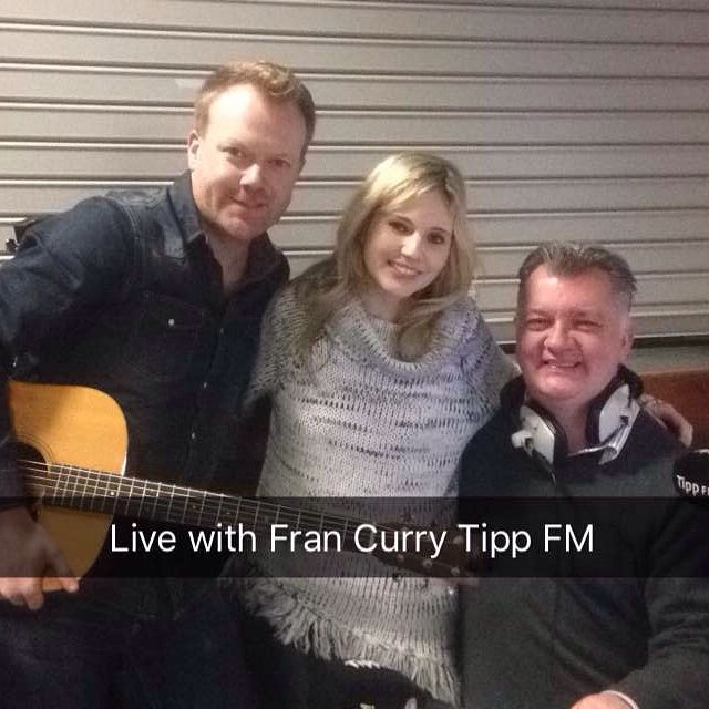 So lovely to see our friend Fran Curry for a chat and a choon on Tip FM live from Shannon Airport