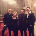 Such a fab night last night playing with these legends!!!! #christmas #charity #concert