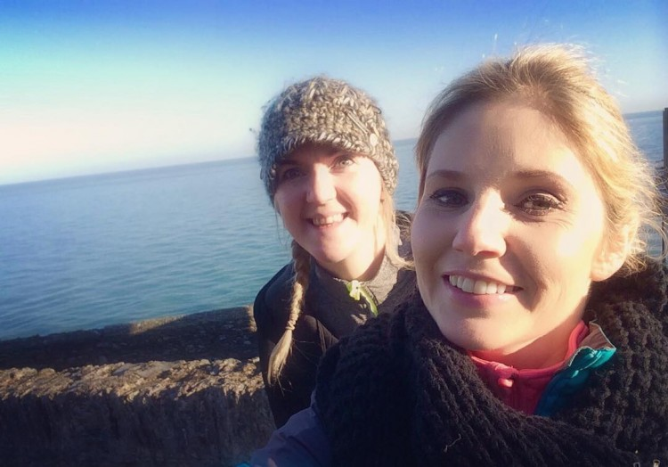 Beautiful crisp November morning by the sea with this littlehellip
