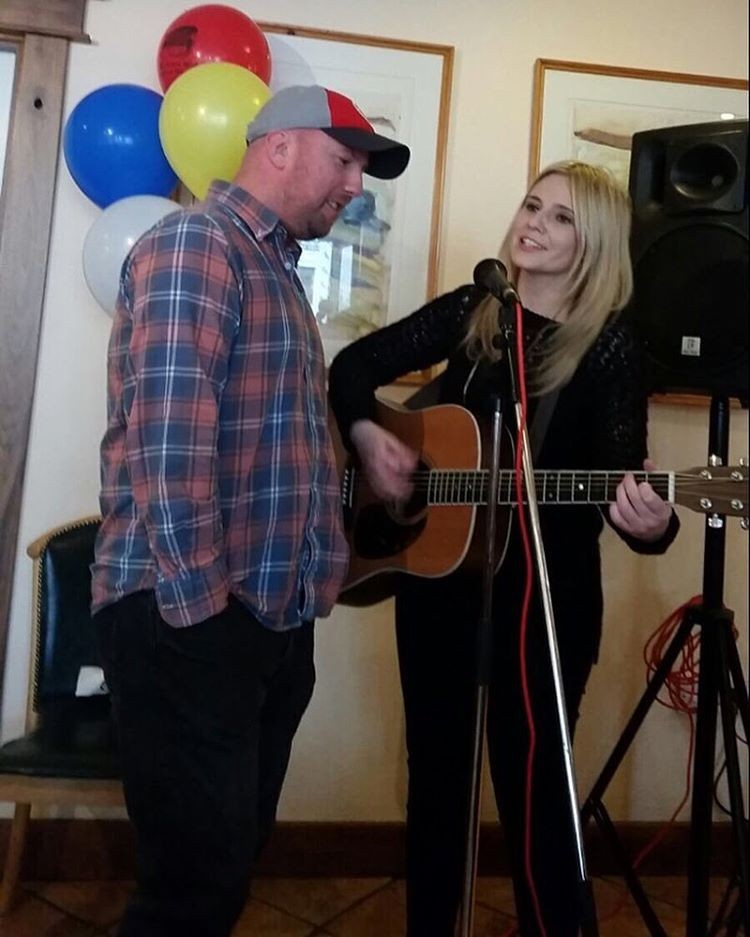 Performing with Davie Furey at This mornings 9th annual Wicklowhellip