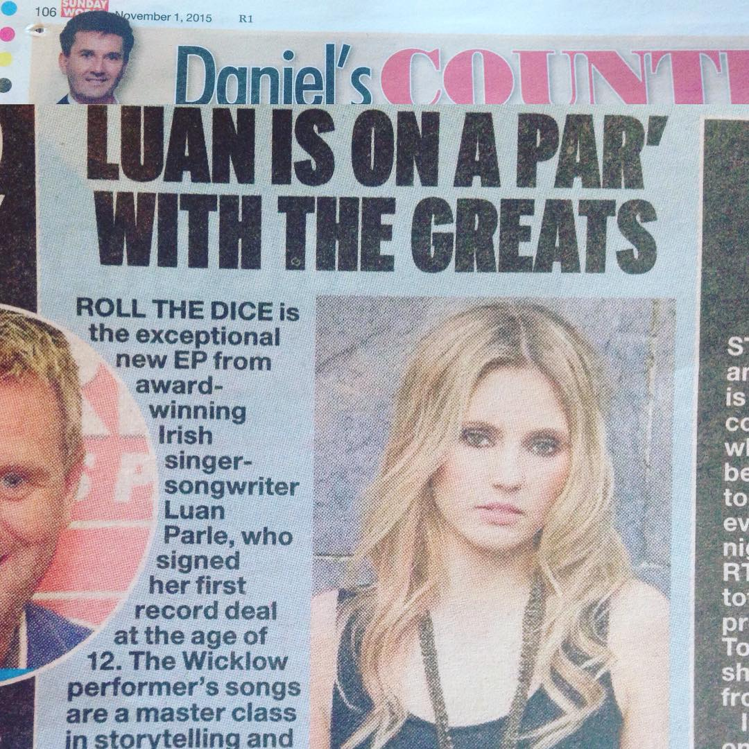 So made up to see this in Today's Sunday World from such a legend!!! Weekend made #sunday #world #danielodonnell #legend