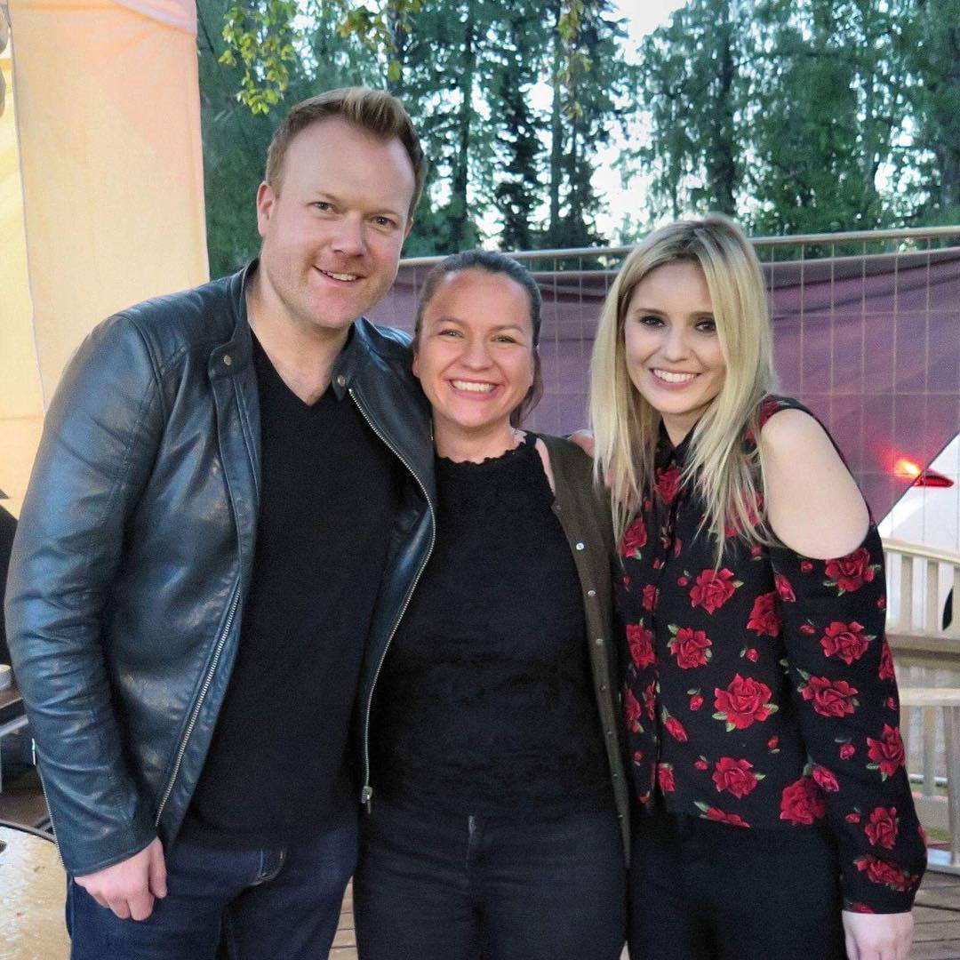 Having fun at the Heinola Folk & Country Festival