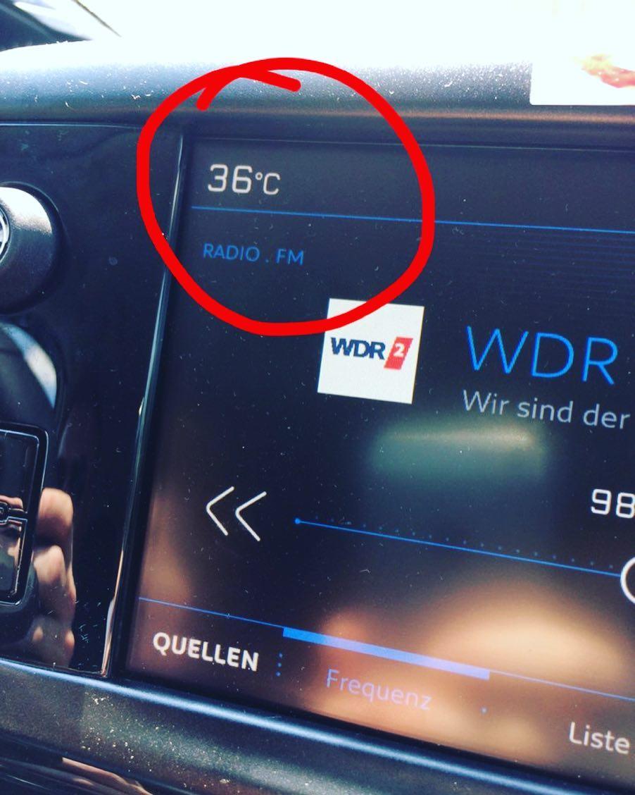 It's HOT in Germany