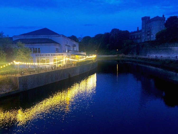Nightfall in Kilkenny  happy summer nightfall musician luanparle singerhellip
