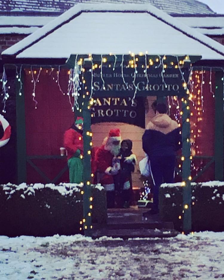 Santas Grotto ??    kilkenny snow love whitechristmashellip