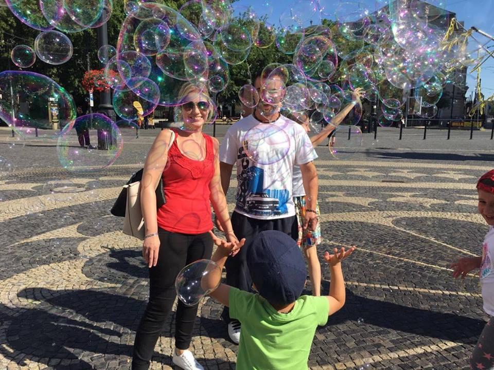Bubbles in Bratislava