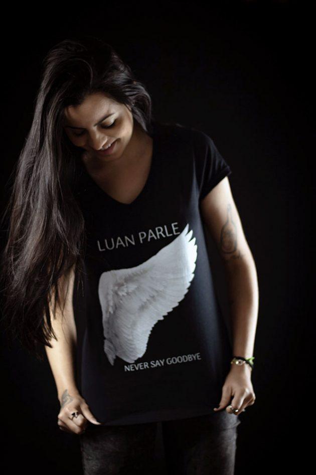 LUAN PARLE - Never Say Goodbye vneck2